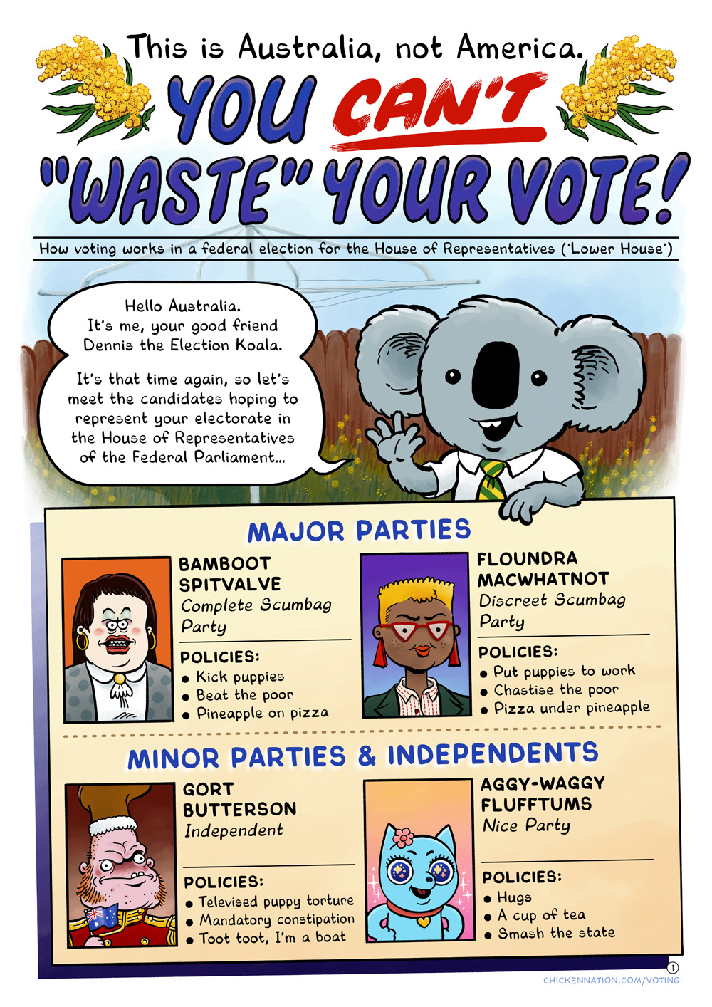 You Can't 'Waste' Your Vote, page 1